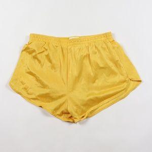 90s Vintage Mens Nylon Running Jogging Gym Shorts
